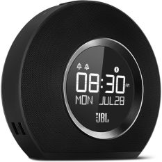 JBL Horizon Bluetooth Clock Radio with USB Charging - Hitam