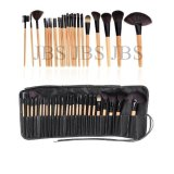 Review Jbs Foundation Eyeshadow Eyeliner Lip Makeup Brushes And Applicators Cosmetic Tool Soft 24 Pcs Terbaru