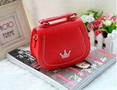 Beli Jcf Premium Tas Branded Anak Fashion Belle Sling Bag Import Red Murah