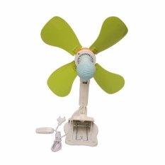 EELIC Mini fan Kipas Angin 4 Baling Baling Jepit 18W 33cm JM-389