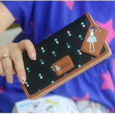 Jims Honey Dompet Fashion Import Dolly Wallet Black Original