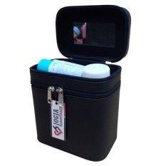 Jogja Craft Box Make Up / Kotak Make Up Beauty Case - Hitam