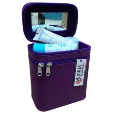 Jogja Craft Box Make Up / Kotak Make Up Beauty Case - Ungu