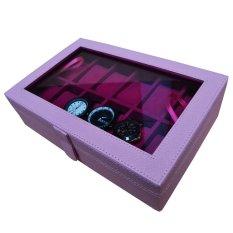 Jogja Craft - Kotak Jam Tangan Isi 12 Baby Pink