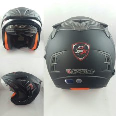 Jpx Supreme Helm Solid Hitam Dove Size M Original