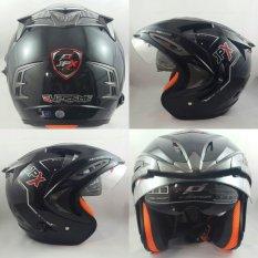 Tips Beli Jpx Supreme Helm Solid Hitam Metallic Size M Yang Bagus