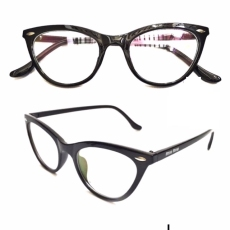 Kacamata Vasckashop Miu Cat Eye Clear Black