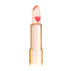 Beli Kailijumei Kailijumei Flower Jelly Lipstick Lipstik Bunga Gold 24K Flame Red Secara Angsuran