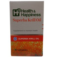 Kalbe Biokos H2 Health & Happiness Superba Krill Oil - 30 Kaplet