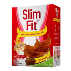 Beli Kalbe Susu Diet Slim Fit Rasa Cokelat Cicilan