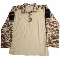 KamoGears Battle Shirt Uniform Army - Digital Brown