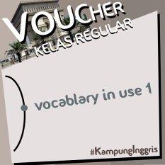 Kampung Inggris Kelas Reguler Vocabulary 2 Minggu. By Pusat Kampung Inggris.