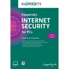 Jual Kaspersky Internet Security 2016 3 User Branded Murah