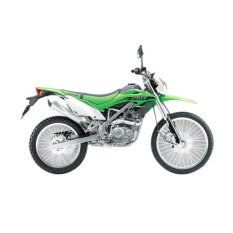 Kawasaki KLX 150 BF - Hijau - Indent