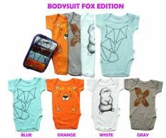 Spesifikasi Kazel Bodysuit 4In1 Jumper Bayi Modern Fox Edition Boy Terbaru