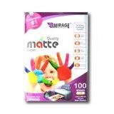 Spesifikasi Kertas Premium Matte Paper 4550 A3 100 Sheets Putih Yg Baik