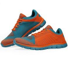 Promo Keta Sepatu 183 Airmax Running Outdoor Olahraga 02 Series Oranye Biru Dki Jakarta