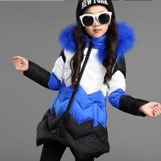 Anak Gadis Baru Musim Dingin Mantel Padded Coat Thicker Anak Besar Virgin Cotton Bagian Panjang Korea Jaket