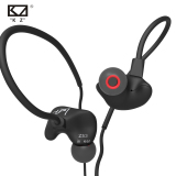 Promo Knowledge Zenith Running Sport Earphones With Microphone Kz Zs3 Black Akhir Tahun