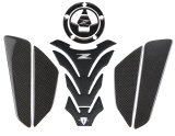 Ongkos Kirim Kodaskin Pro Carbon Tank Pad Sticker Decal Emblem Gripper Stomp Grips Mudah Untuk Kawasaki Z800 Z1000 Z750 Di Tiongkok