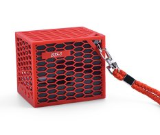 Beli Barang Kura Bluetooth Speaker Bts 3 Merah Online