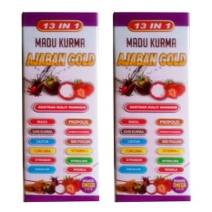 Review Kurma Madu Ajaban Gold 2 Kotak