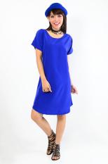 LabelleDesign Dress Rachelle Casual Ladies - BENHUR BLUE