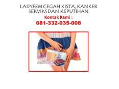 Ladyfem solusi kista dan keputihan