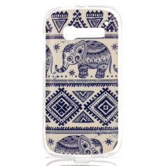 Lancase TPU Case for Alcatel One Touch Pop C5 (Blue)