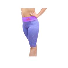Larisashop Surabaya - Yoga Legging 7/8 Celana Capri 3/4 Sport Sport Legging Premium Quality - Purple