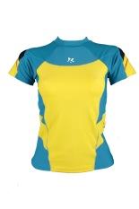 Lasona Baju Atasan Renang Wanita BRP-A2897-L4 Sea green Kuning