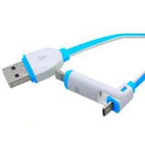 Review Toko Ldnio Cable Data Charger Usb Micro Lightning Lc82 Biru