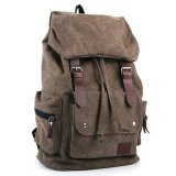 Diskon Leather Backpack Cokelat Branded
