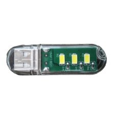 LED Light Superbright USB 3 LED Senter Torch Lampu Emergency Lamp Bright Clear