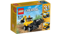 Spesifikasi Lego Creator Construction Vehicles Multi Colour Lengkap
