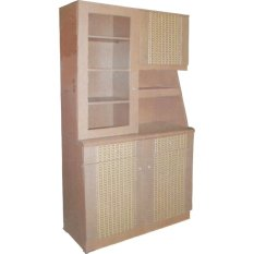 Lemari Sayur Kitchen Rak Dapur 2 Pintu LS 501 Set Atas Bawah