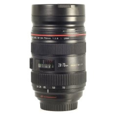 Lens Cup Replica Canon Ef 24-70mm 1:1 F Zoom / Zoomable Thermos Camera Mug Lensa Stainless Steel By = I2y Store =.