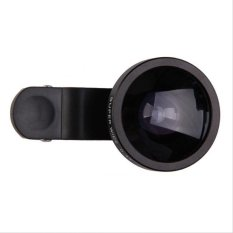 Toko Lensa Superwide Quality Universal Clip Lens Super Wide 4X 235 Degree For Universal Smartphone Hitam Indonesia
