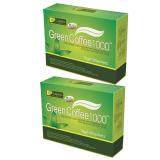 Harga Leptin Green Coffee 1000 Kopi Diet Kopi Organik Pelangsing Original 18 Sachets 2 Pak New