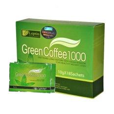 Jual Leptin Green Coffee 1000 Kopi Pelangsing 18 Sachet Leptin Grosir