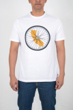 Iklan Levi S Commuter Drop Hem Tee White
