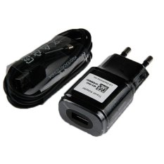 LG Original MCS-04ER 1.8A Charger Adapter with Original KSD - EAD62329304 Data Cable for LG G2 - G Pro 2 - G3 - Flex - Hitam