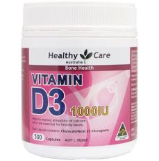 Jual Limited Edition Healthy Care Vitamin D3 1000 Iu 500 Kapsul Healthy Care Grosir