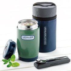Harga Lock Lock Lunch Box Hot Tank 540Ml Green New