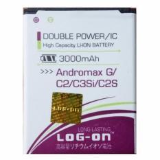 Ulasan Lengkap Log On Baterai Smartfren Andromax G C2 C3Si C2S Double Power 3000 Mah