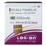 Promo Log On Baterai Smartfren Andromax G2 G2 Qwerty Double Power 3000 Mah Murah