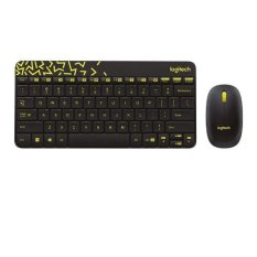 Logitech Keyboard Dan Mouse Wireless Mk240 Nano Hitam By Hagakomputer.