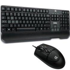Spesifikasi Logitech Keyboard Mouse G100S Combo Gaming Hitam Lengkap