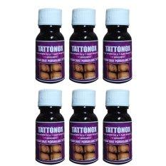 Lolitattoo Tattonox Penghilang Tatto Permanen - 6 pcs