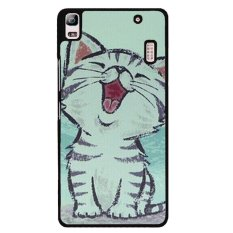 Lovely Cat Phone Case For Lenovo A7000 Black Promo Beli 1 Gratis 1